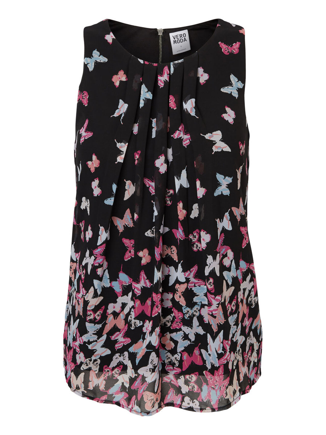 90fabe55fc3 Butterfly sleeveless top