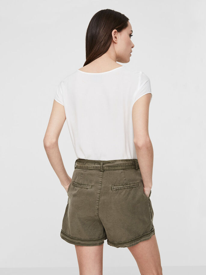 LYOCELL SHORTS, Ivy Green, large