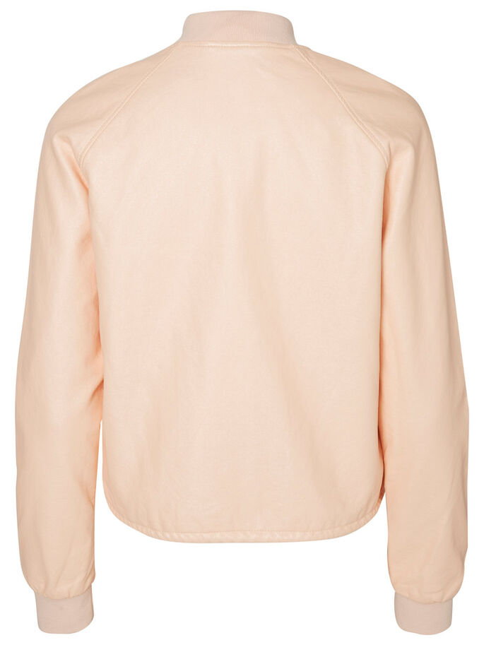 BOMBER JACKET, Pale Peach, large