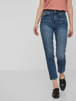 STEPHANIE HW ANKLE JEANS