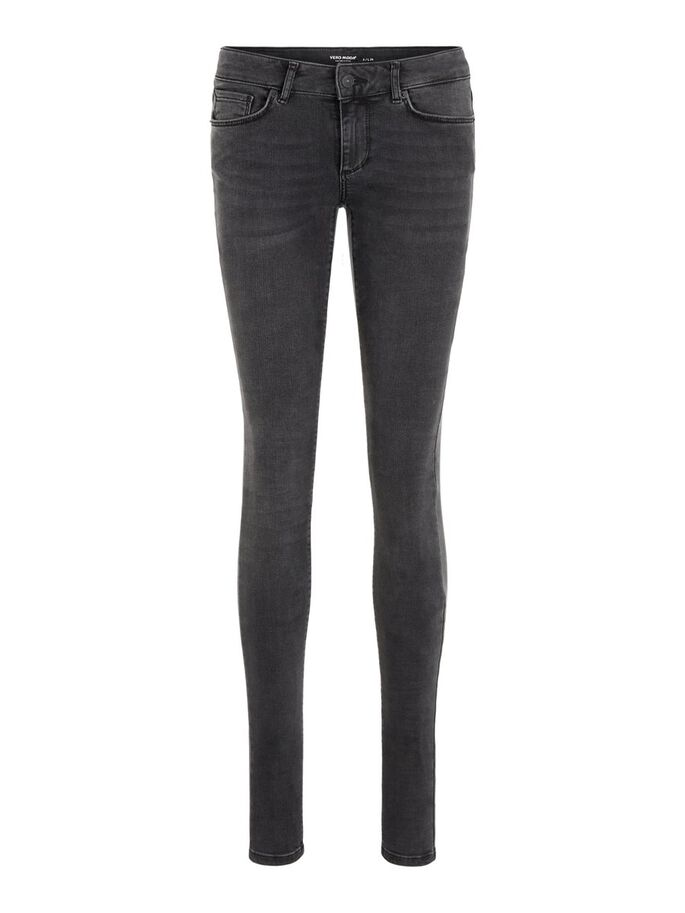 LUX LW SKINNY FIT JEANS, Black, large