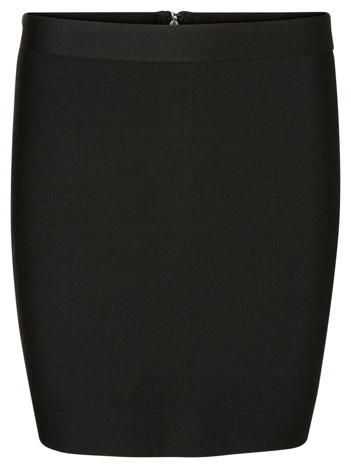NW SHORT SKIRT, Black, large