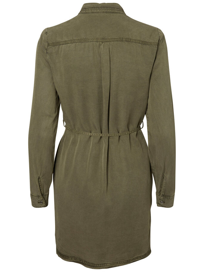 CHEMISE ROBE, Ivy Green, large