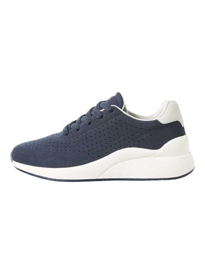 CHUNKY SOLE SNEAKERS, Navy Blazer, large