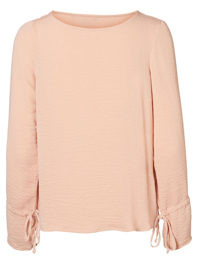 CASUAL LONG SLEEVED BLOUSE, Rose Cloud, large