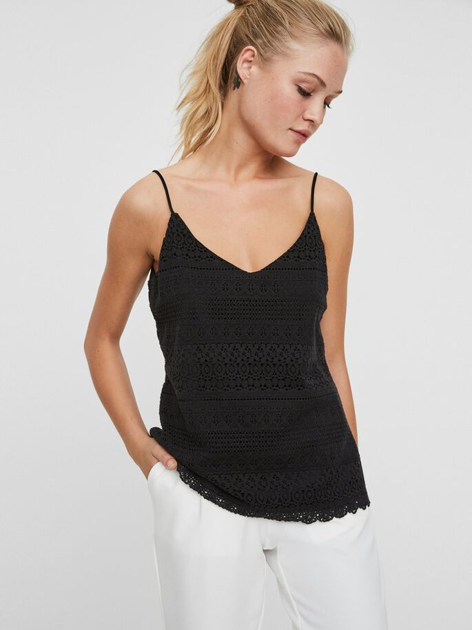 BLONDE TOP, Black, large