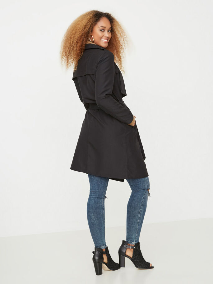 SPRING JACKET, Black, large