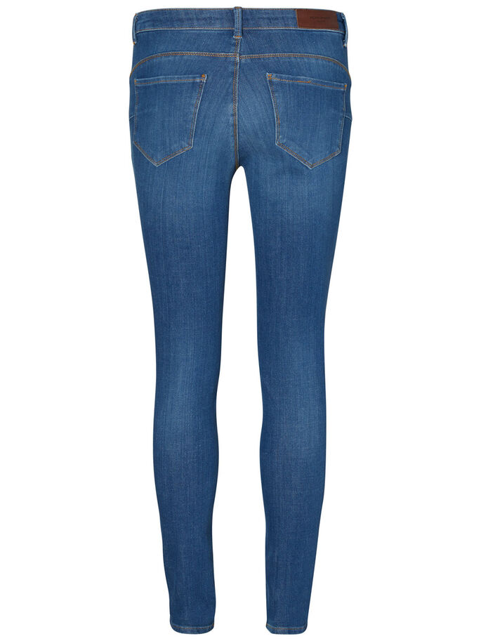 ICON NW SKINNY FIT JEANS, Medium Blue Denim, large