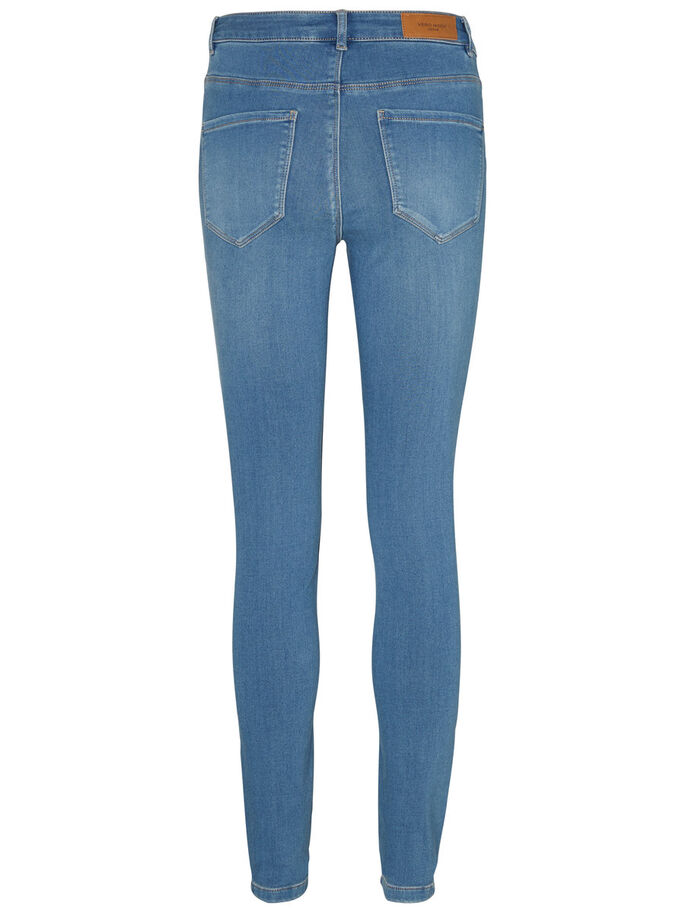 SEVEN NW SMOOTH SKINNY FIT JEANS, Light Blue Denim, large