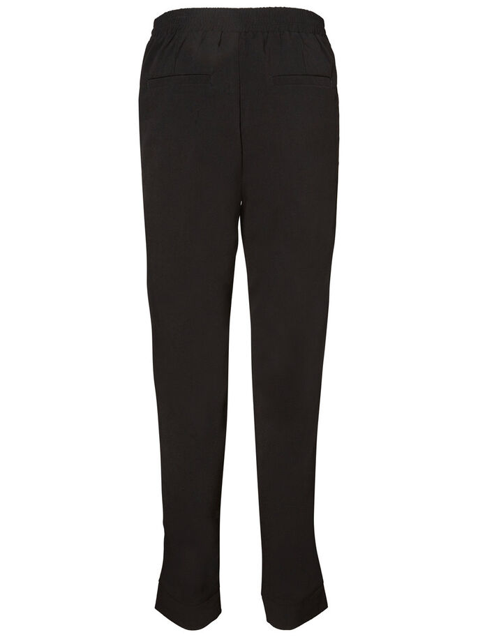 LOOSE FIT TROUSERS, Black, large