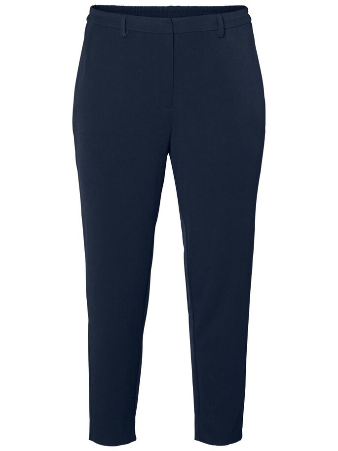TAILORDED ANKLE TROUSERS, Navy Blazer, large