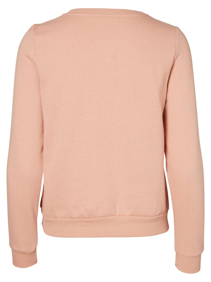 SOFT SWEATSHIRT, Dusty Coral, large
