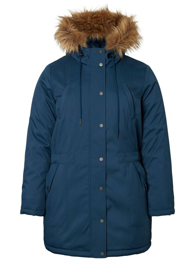 PARKA JACKE, Blue Wing Teal, large