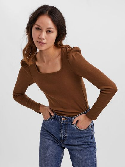 PUFF LONG SLEEVED TOP