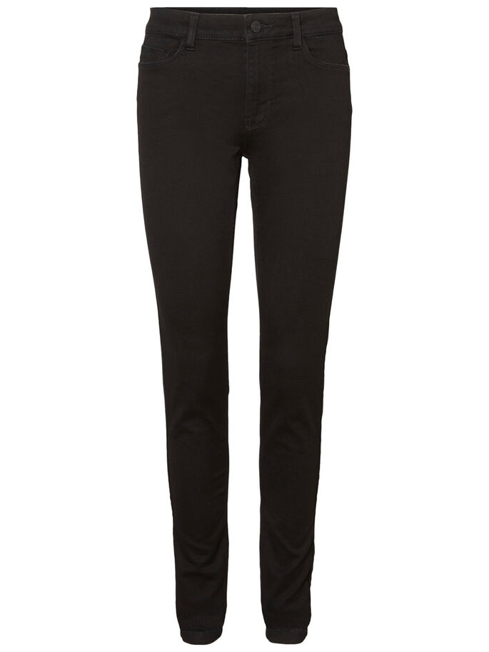 EXTREME NW SOFT SKINNY FIT JEANS, Black, large