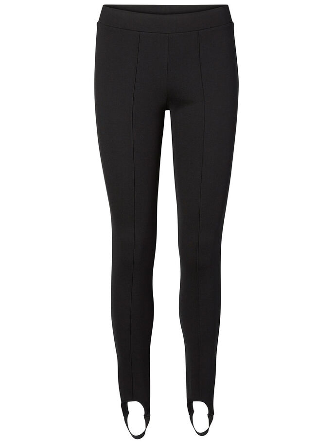 LÄSSIGE LEGGINGS, Black, large