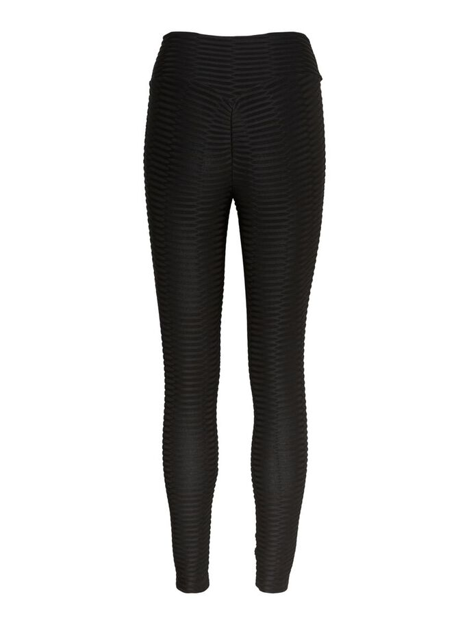 HIGH WAISTED LEGGINGS, Black, large