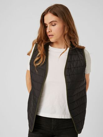 QUILTED PADDED GILET