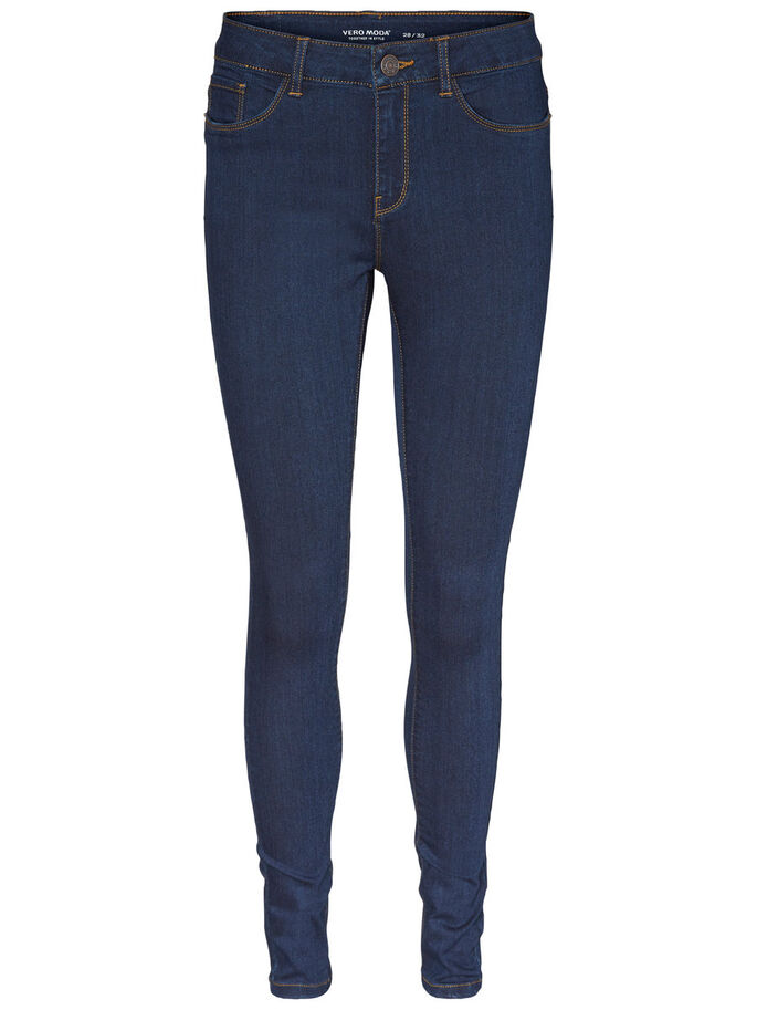SEVEN NW SKINNY FIT-JEANS, Dark Blue Denim, large