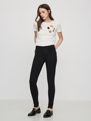 LUCY NW BIKER SKINNY FIT JEANS