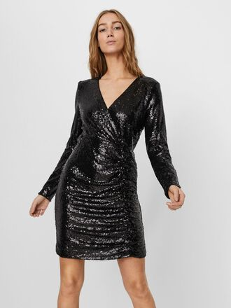 SEQUINED PARTY MINI DRESS