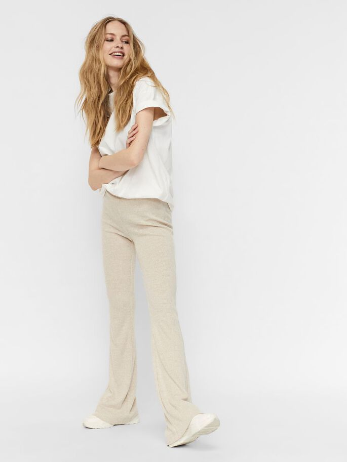 NORMAL WAIST TROUSERS, Birch, large