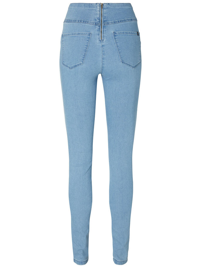 HIGHWAIST JEGGINGS, Light Blue Denim, large