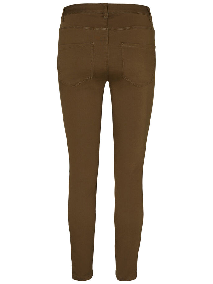 HW SLIM FIT TROUSERS, Ivy Green, large
