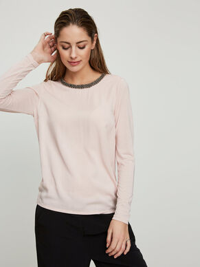 FEMININE LONG SLEEVED TOP