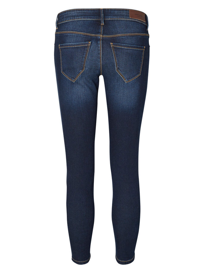 FIVE LW ANKLE JEAN SKINNY, Dark Blue Denim, large