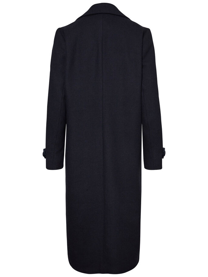 LONG COAT, Navy Blazer, large