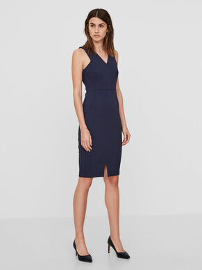 BODYCON SLEEVELESS DRESS