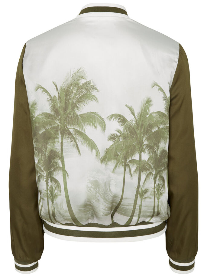 BOMBER JAS, Ivy Green, large