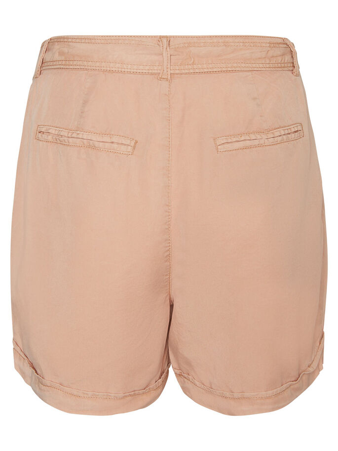 LYOCELL SHORTS, Cream Tan, large