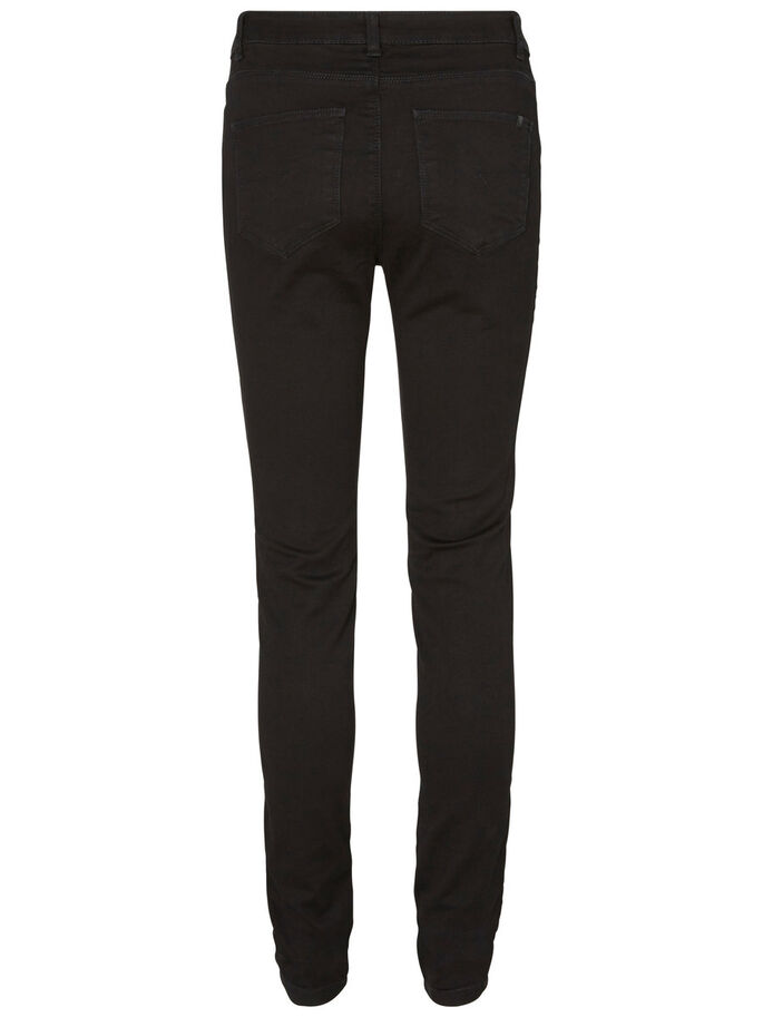 EXTREME LUCY NW SKINNY FIT JEANS, Black, large