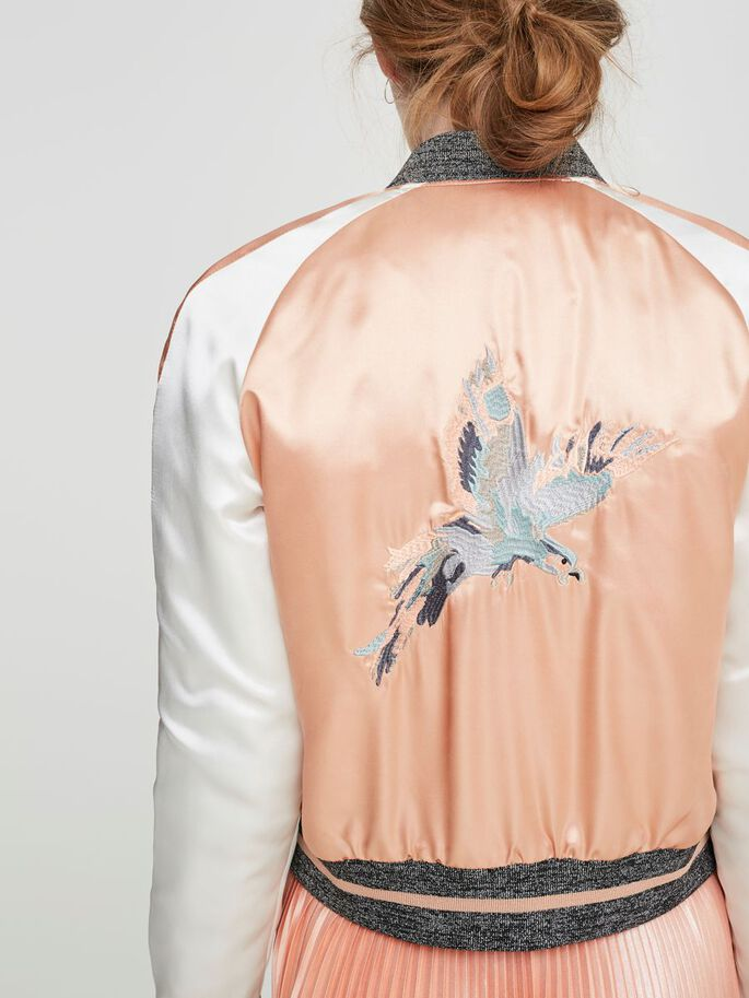 BOMBER JAS, Dusty Coral, large