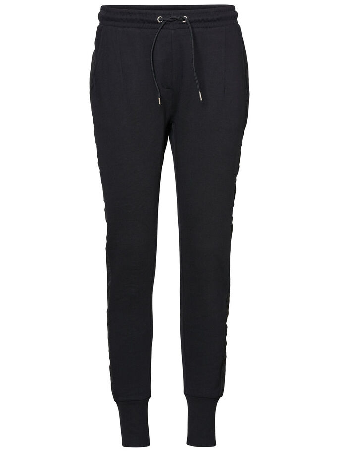 AWARE SWEAT PANTS, Black, large