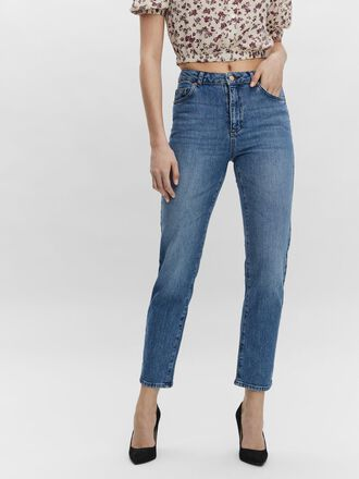 VMCARLA HIGH WAISTED STRAIGHT FIT JEANS