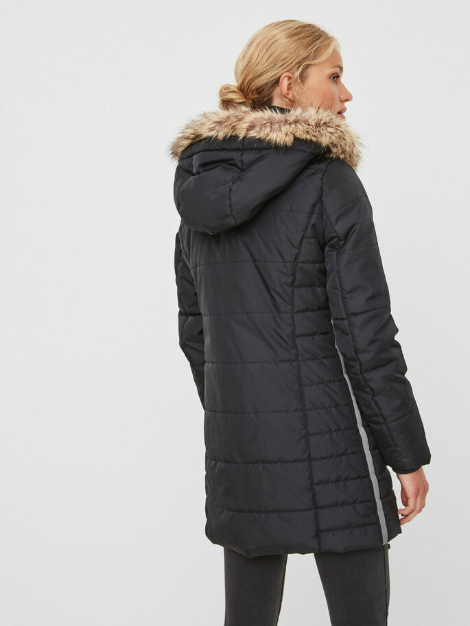 VINTER JAKKE, Black Beauty, large