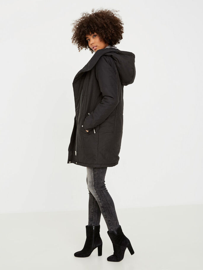 WINTER JAS, Black, large