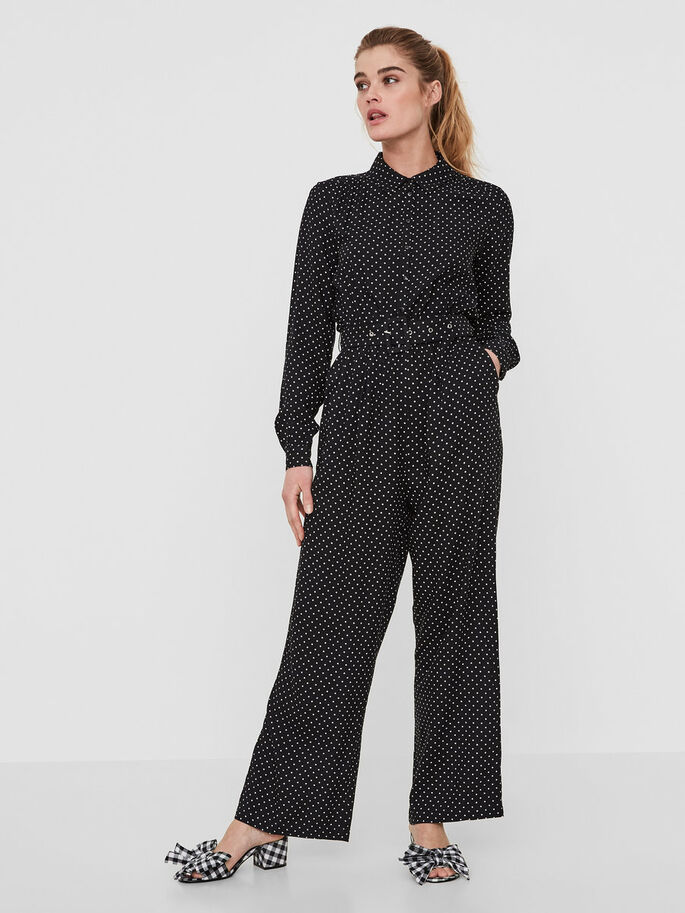 284a5a5b741 Dotted jumpsuit