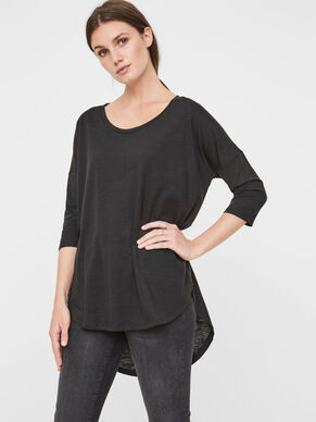 CASUAL 3/4 SLEEVED BLOUSE