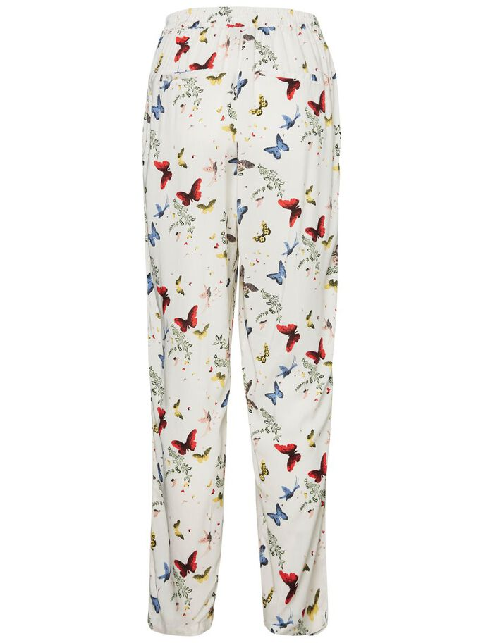 LOOSE FIT TROUSERS, Snow White, large