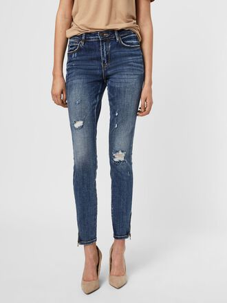 VMTILDE NORMAL WAIST SKINNY FIT JEANS