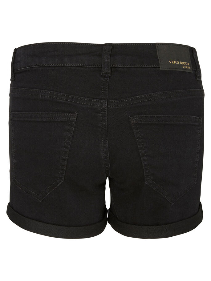 LW SHORTS EN JEAN, Black, large