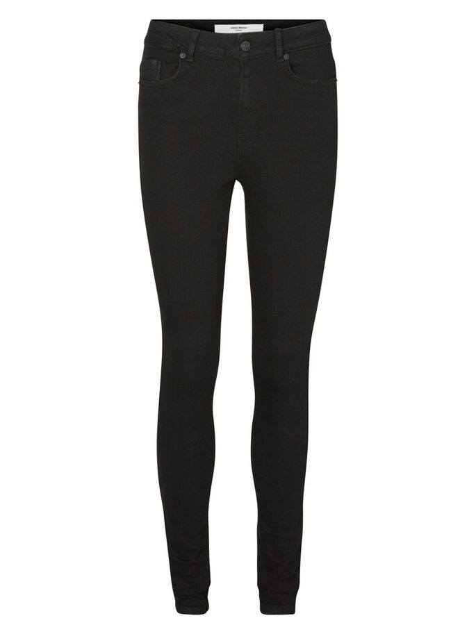 NINE HW SKINNY FIT -FARKUT, Black, large