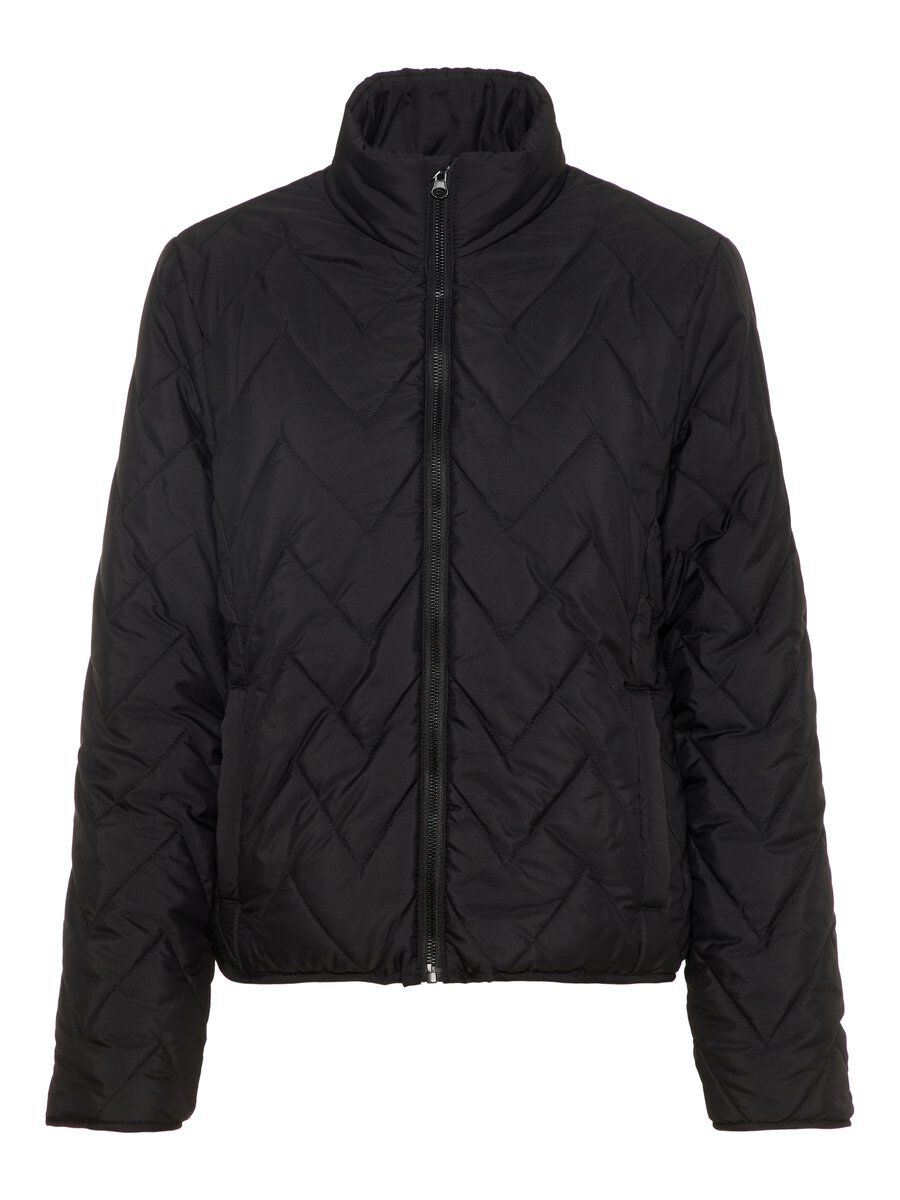 Noisy May quilted long jacket