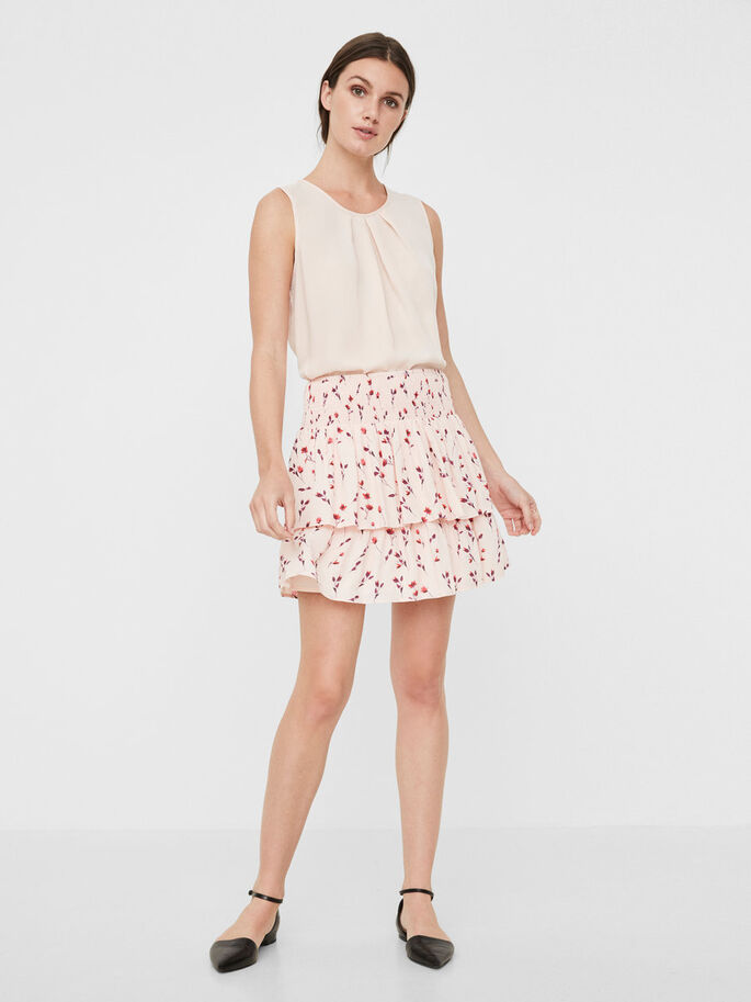 SHORT SKIRT, Pearl, large