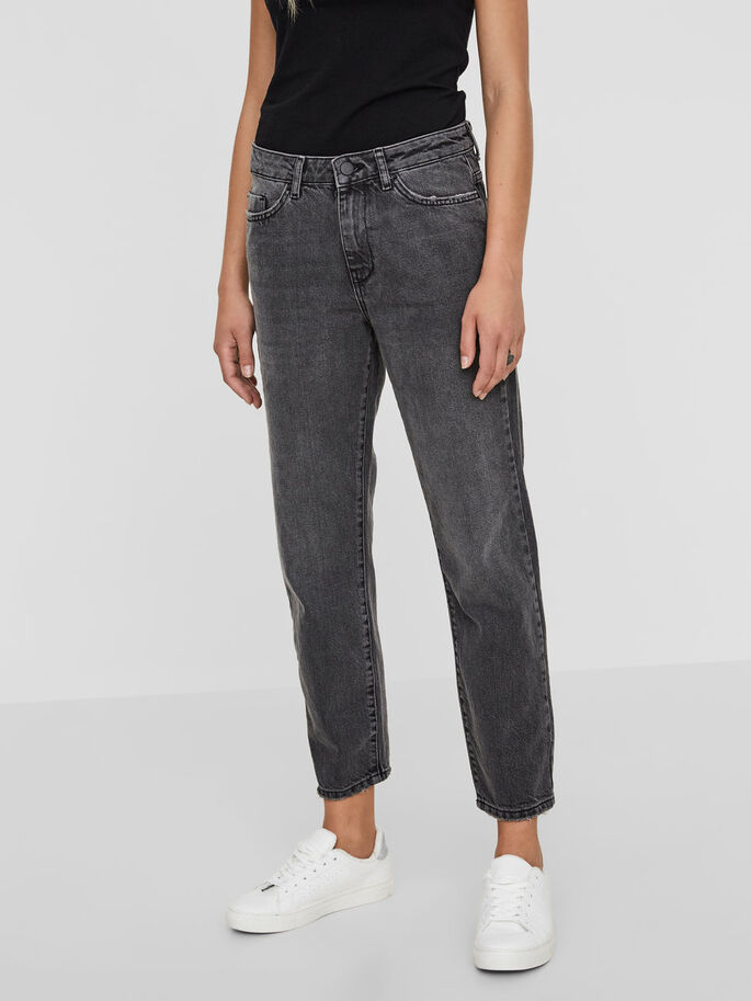 MM/VM STRAIGHT FIT JEANS, Medium Grey Denim, large
