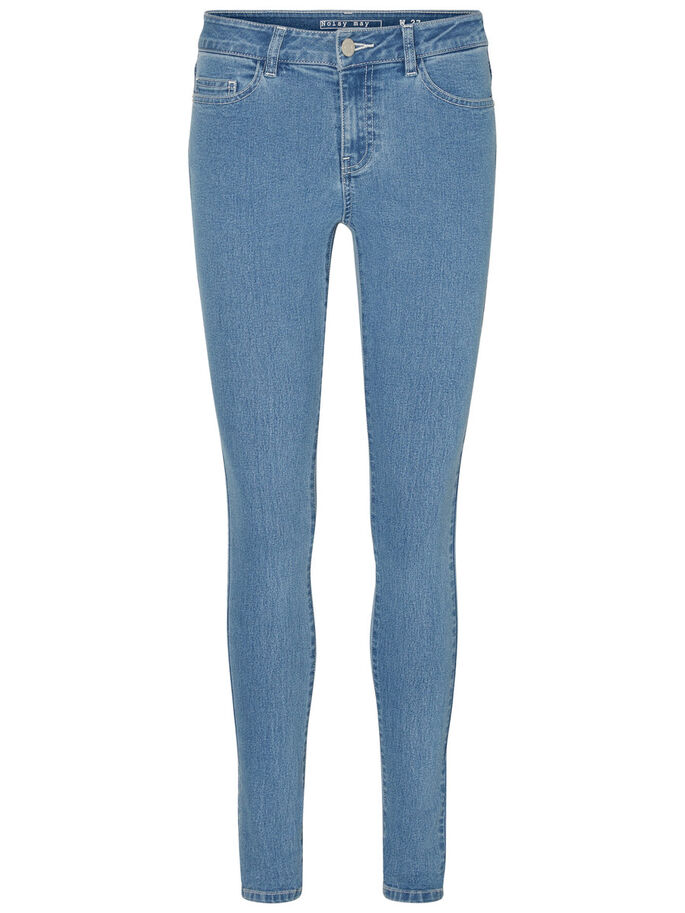 LUCY NW SKINNY FIT-JEANS, Light Blue Denim, large